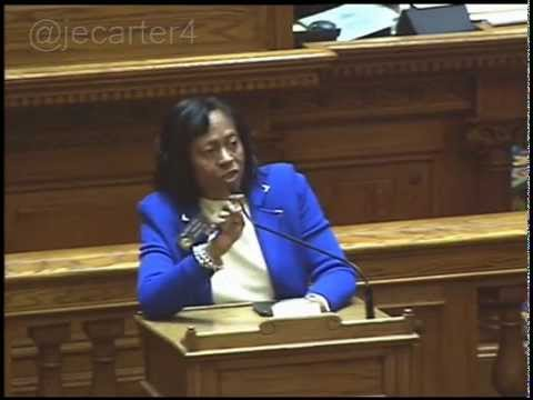 GA State Senator Valencia Seay to male colleagues on abortion