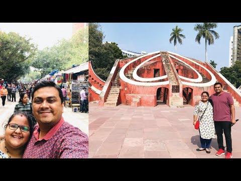 ഡൽഹി സ്ട്രീറ്റ് ഷോപ്പിംഗ് Part 1 - Delhi YWCA Hostel, Jantar Mantar & Janpath Market