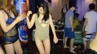 Thai dancing in club