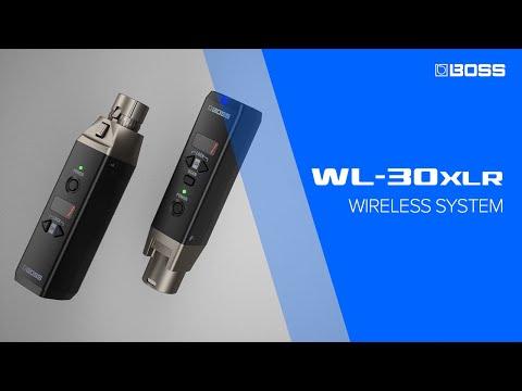 BOSS WL-30XLR - Wireless System for microphone
