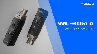 BOSS WL-30XLR - Wireless System for microphone