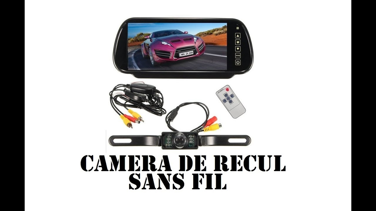 cyrob revue camera de recul sans fil youtube
