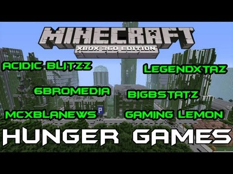 HUNGER GAMES wGaming Lemon BigBStatz Acidic Blitzz 6BroMedia MCXBLANews Part1 | Minecraft Xbox