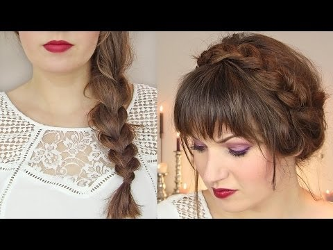 Cute Hairstyles for Thin Hair Tutorial