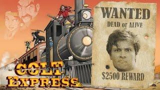 Обзор настольной игры Colt Express (Кольт Экспресс)