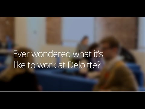 Why Deloitte is a great place to start a career