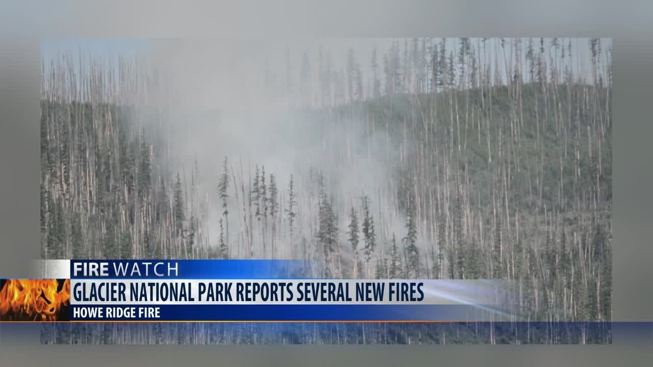 Wildfire triggers closures and evacuations at Glacier National Park