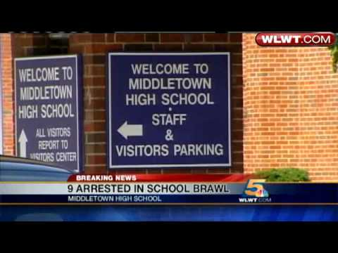 9 Arrested In Middletown High School Fight