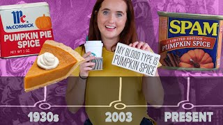 The Origin Of Pumpkin Spice In 6 Minutes
