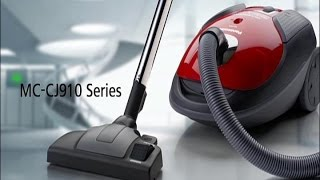 Panasonic CJ910-series Vacuum Cleaners