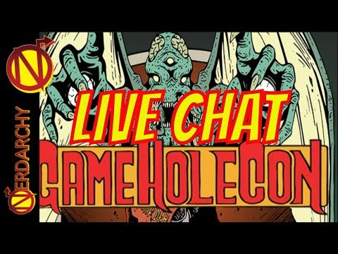 Talking About D&D, True Dungeon, and Game Hole Con- Nerdarchy Live Chat #263