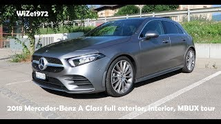 Full exterior, interior tour and MBUX tour of the brand new Mercede...