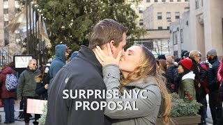 SURPRISE PROPOSAL IN NYC!