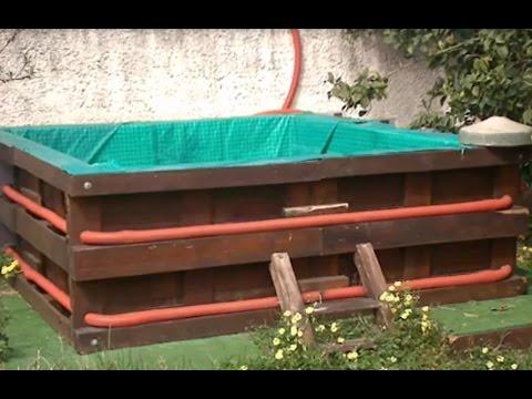 видео: Бассейн из поддонов своими руками