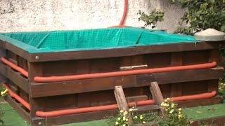 видео Лестница для бассейна Intex каркасного, для бани своими руками: фото