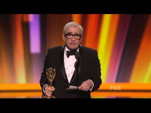 Martin Scorsese wins an Emmy at the 2011 Primetime Emmy Awards