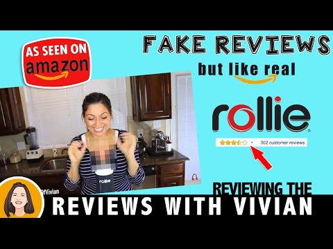 AMAZON FAKE REVIEWS BUT LIKE REAL - ROLLIE   AMAZON REVIEWS WITH VIVIAN