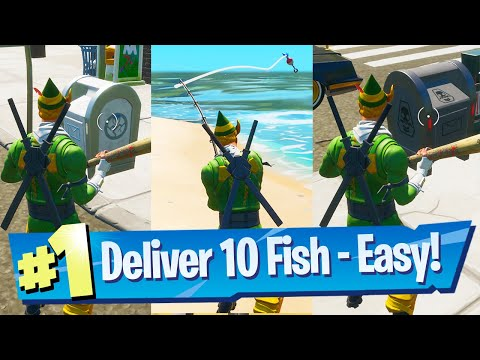 Deliver Fish To GHOST + Deliver Fish To SHADOW Location - Fortnite Battle Royale