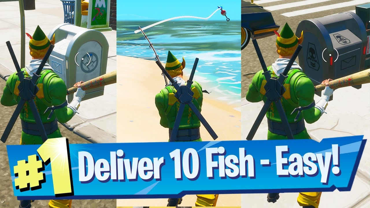 Deliver Fish To Ghost Deliver Fish To Shadow Location Fortnite