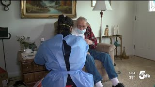 CSFD Paramedics Delivering Vaccines To Homebound Individuals