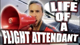 THE LIFE OF A FLIGHT ATTENDANT Ep.6 | SECRETS ON AIRPLANES FROM A FLIGHT ATTENDANT