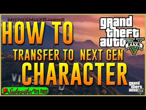 How to Transfer Character GTA Online - Rockstar Social Club - GTA V - GTA 5 - Xbox One - LIVE
