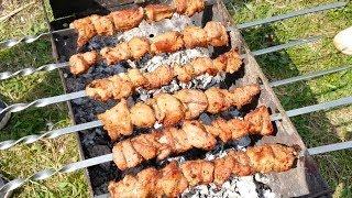 Шашлык рецепт Маринад для шашлыка на минеральной воде Шашлик Как замариновать шашлык Рецепт шашлыка