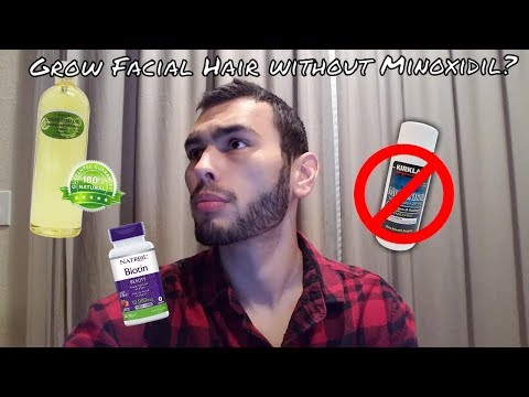 5 Ways to Boost Facial Hair Growth without Minoxidil