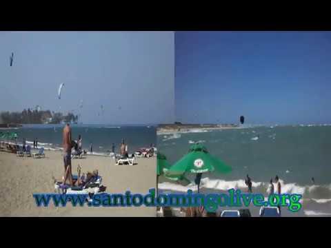 Cabarete, video de la hermosa playa popular entre los surfistas, republica dominicana