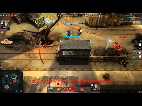 Браузерный 3Д онлайн шутер игра Merc Elite Геймплей