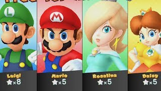 Mario Party 10 - Haunted Trail - Luigi vs Mario vs Rosalina vs Daisy