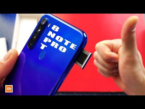 Redmi Note 8 Pro как вставить сим карту, Redmi Note 8t как установить Sim.
