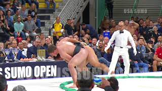 2018 US SUMO OPEN - Middleweight Highlights