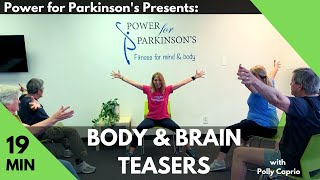 Body & Brain Teasers Workout w/ Polly Caprio