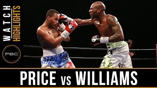 Price vs Williams HIGHLIGHTS: February 21, 2017 - PBC on FS1