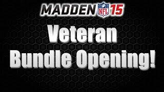 MUT 15   Veteran Bundle Pack Opening   Final Edition Brent Grimes