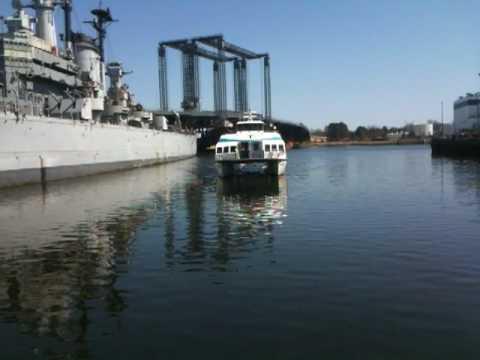 The MBTA Harbor Express Water Shuttle