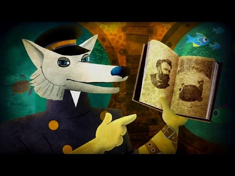 Волшебный фонарь- Мультфильм про диафильмы - Сборник имени Жюля Верна 2 - литература детям