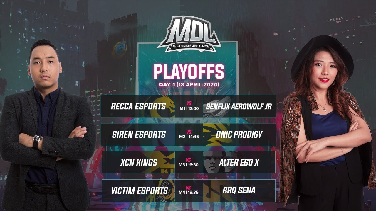 MDL Indonesia Season 1 Playoffs Day 1
