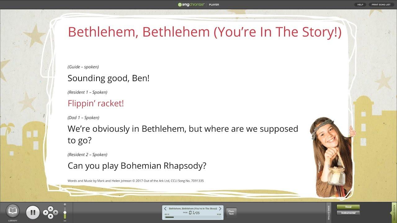 Bethlehem The Musical | Christmas Nativity | Out of the Ark