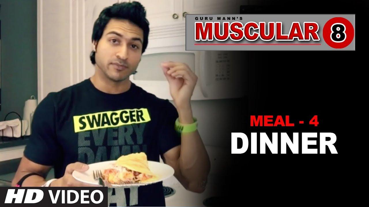 Meal 4: DINNER | Muscular 8 Program by Guru Mann