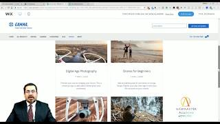 Drone Store E-Commerce Template from Wix - Web Design - Tutorial