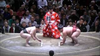 Sumo -Hatsu Basho 2017 Day 1, January 8th -大相撲初場所 2017年 初日