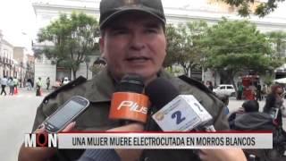 01/12/15   14:25  UNA MUJER MUERE ELECTROCUTADA EN MORROS BLANCOS