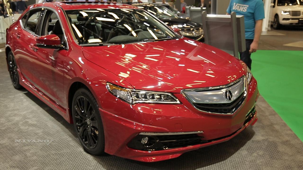 2017 Acura Tlx Sh Awd Elite Exterior And Interior Walkaround Montreal Auto Show