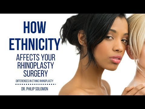 How Ethnicity Affects Your Rhinoplasty Surgery | Dr. Philip Solomon