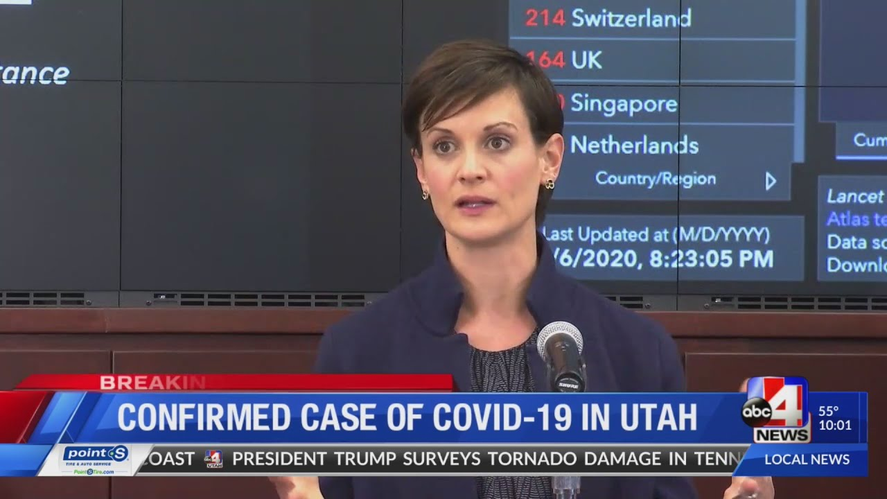 Health officials confirm first known case of coronavirus in Utah