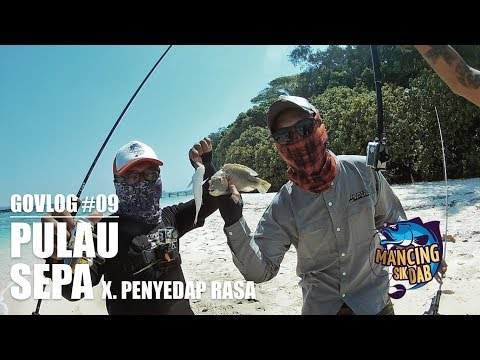 #GOVLOG : Msd eps 09 - Mancing di Pulau Sepa  - Ultralight Fishing