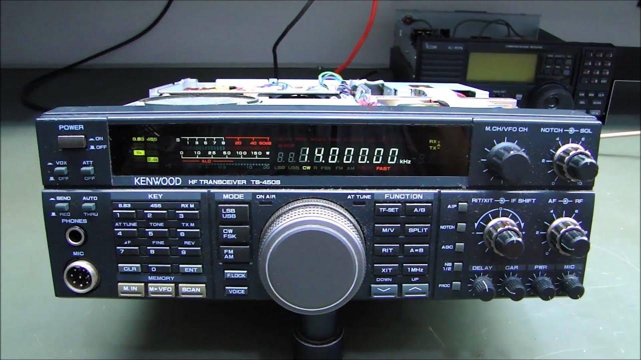 ALPHA TELECOM KENWOOD TS450SAT e YAESU FT7900R  YouTube