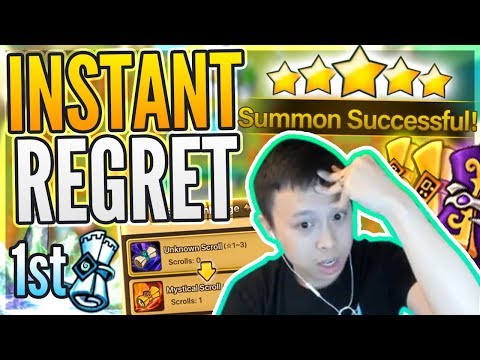 Mistakes Were Made... NEW Account?! - INSTANT Dream NAT 5?! - Summoners War